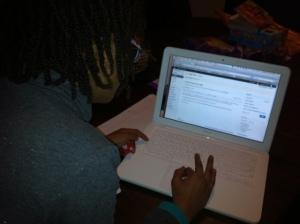 Zoe typed this one herself! Woo! Hoo!