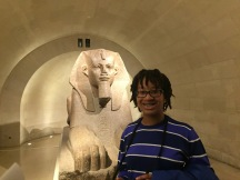 Me with the Great Sphinx of Tanis