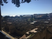 Herculaneum, another city close to Pompeii that was also destroyed by the 79 AD eruption