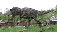 Feathered_Tyrannosaurus_model
